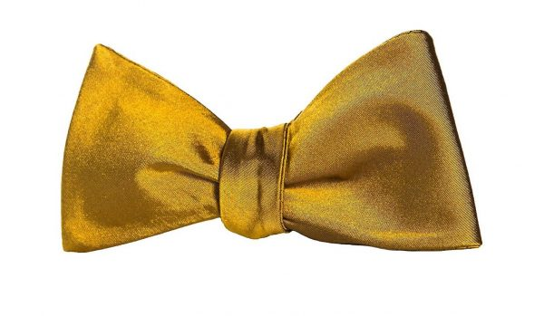Gold Bow Tie