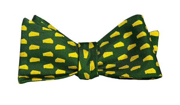 Big Green Cheese Bow Tie