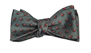 Charcoal Mr. Money Bags Bow Tie