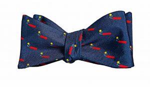 Navy Kaboom! Bow Tie