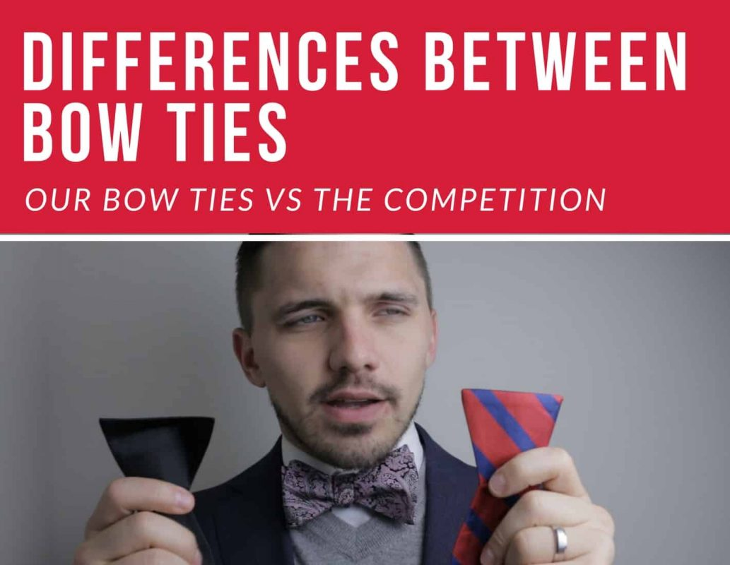 bow tie differences