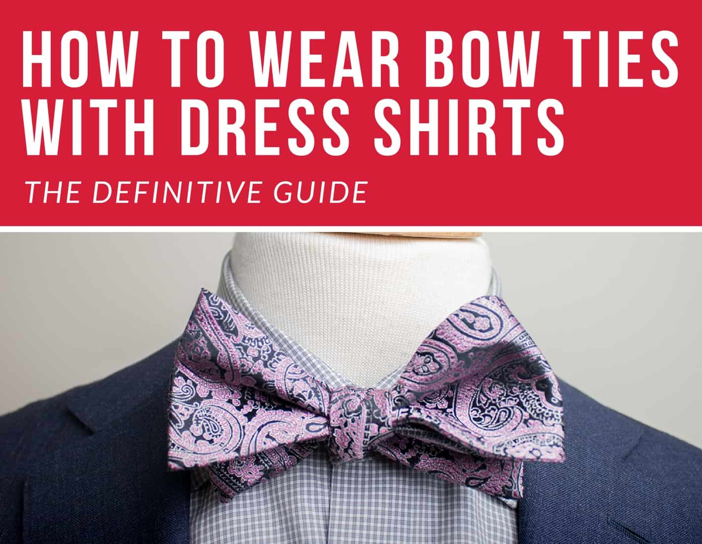 bow ties with shirts
