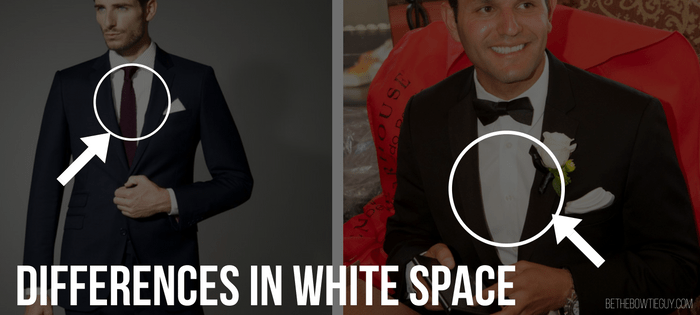 differences in white space