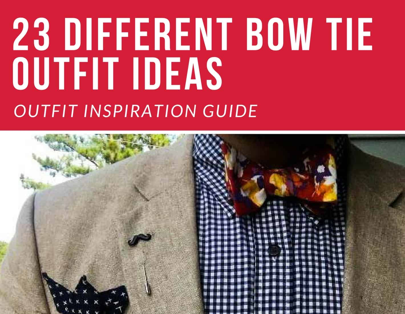 bow tie outfit ideas