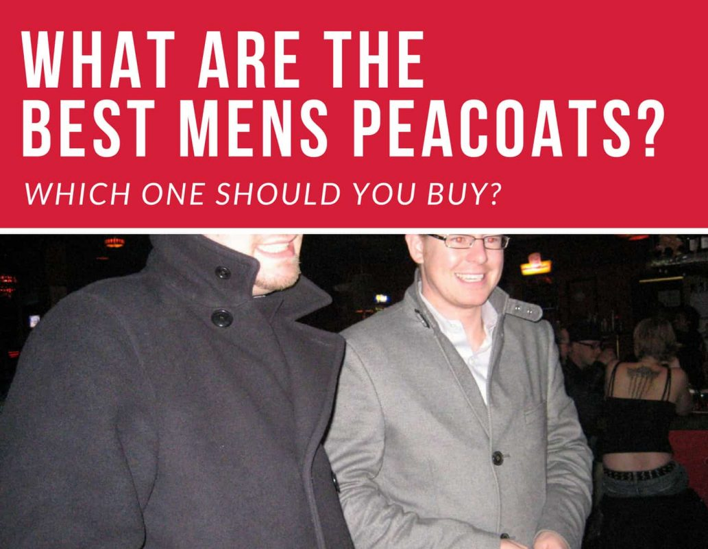 beat mens peacoats